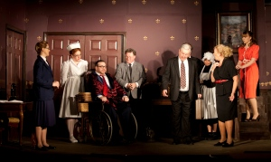 The cast of 'The Man Who Came to Dinner.'Photo: Amelia Beamish