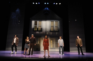 The cast of 'Next to Normal.' Photo: Greg Mooney, courtesy of Alliance Theatre, Atlanta