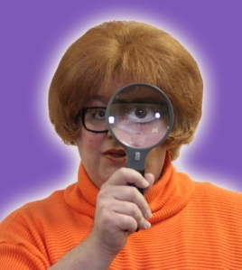 "Velma, played by Gennaro Parlato, in ""Spooky Dog and the Teen-Age Gang Mysteries.' Photo: Rarely Done Productions"