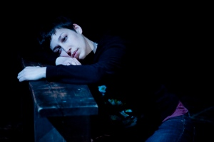 Jodi Bova-Mele as the incredibly bright and depressed Catherine in 'Proof.' Photo: Amelia Beamish