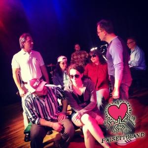The cast of 'Falsettoland.' Photo: Ty Marshal