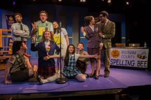 The cast of 'Spelling Bee.'  Photo: Matt Munsey