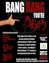 Audio Preview: 'Bang Bang You're Dead' at Rarely Done Productions