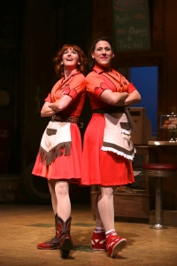 The Dinettes (from left to right): Erin Maguire and Farah Alvin. Photo by Ken Huth