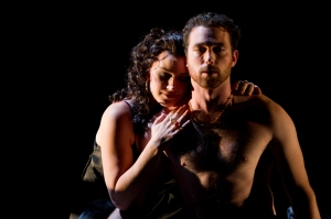 Carmen and the proud toredor Escamillo