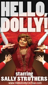 """""""Hello, Dolly!"""" starring Sally Struthers opened for a limited touring engagement at the Oncenter."""