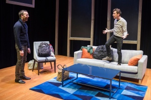 Jimmy King and Karl Gregory in From White Plains by Michael Perlman. Photo by Jacob J Goldberg