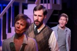 "Laura Austin, John Keckeisen, Ian Jordan Subsara in the Red House production ""Next To Normal."" (Photo by Jessie Dobrzynski)"