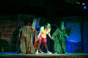 """The cast of """"Evil Dead: The Musical"""" at CNY Playhouse. Photo by Amelia Beamish."""