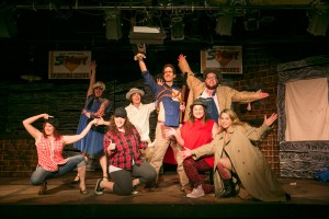 """The cast of """"Evil Dead: The Musical"""" at CNY Playhouse."""