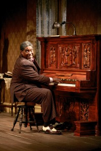 G. Valmont Thomas (Wining Boy) in the Syracuse Stage production of August Wilson's The Piano Lesson. Photographer Michael Davis.