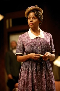 Erika LaVonn (Bernice) in the Syracuse Stage production of August Wilson's The Piano Lesson. Photographer Michael Davis.