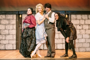 """The cast of """"Young Frankenstein"""" at Baldwinsville Theatre Guild."""