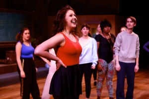Madie Polyak in SU Drama's Stepping Out. Photographer: Michael Davis.