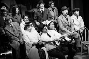 """The cast of """"A Man of No Importance"""" at the Redhouse."""