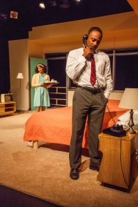'The Mountaintop' tells the fictional story of Martin Luther King Jr.'s final moments before his assassi